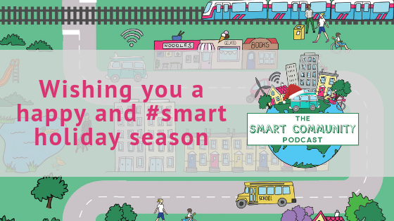 Happy Holidays #smartcommunity!