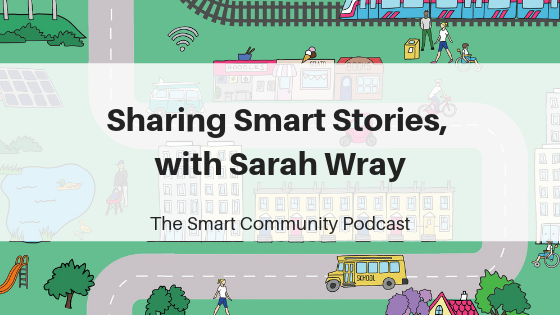 SCP E81 Sharing Smart Stories, with Sarah Wray
