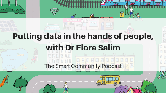 SCP E112 Putting data in the hands of people, with Flora Salim