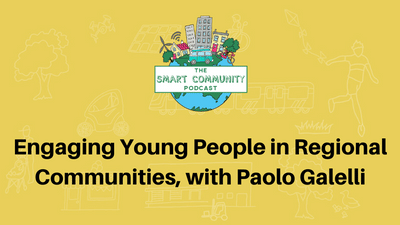 SCP E148 Engaging Young People in Regional Communities, with Paolo Galelli