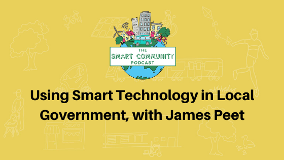 SCP E146 Using Smart Technology in Local Government, James Peet