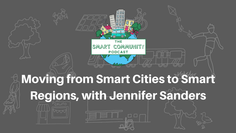 SCP E170 Moving from Smart Cities to Smart Regions, with Jennifer Sanders