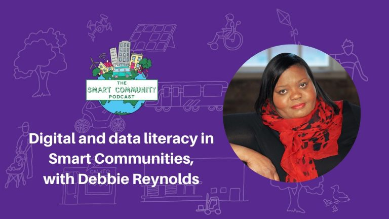 SCP E177 Digital and data literacy in Smart Communities, with Debbie Reynolds
