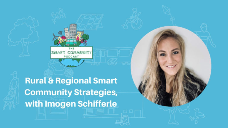 SCP E189 Rural and Regional Smart Community Strategies, with Imogen Schifferle