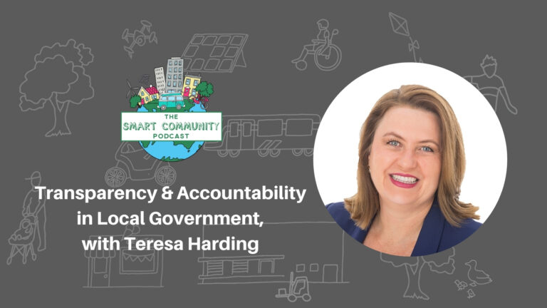 SCP E193 Transparency and Accountability in Local Governments, with Teresa Harding
