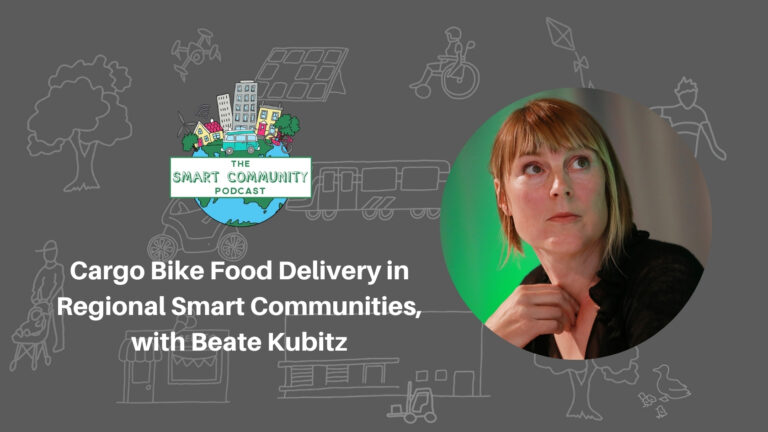 SCP E194 Cargo Bike Food Delivery in Regional Smart Communities, with Beate Kubitz