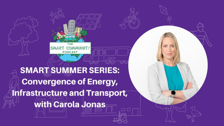 SCP E204 Summer Series: Convergence of Energy, Infrastructure and Transport, with Carola Jonas