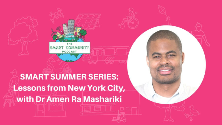 SCP E206 Summer Series: Smart Lessons from New York City, with Dr Amen Ra Mashariki