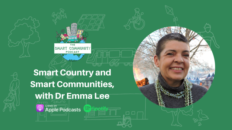 SCP E211 Smart Country and Smart Communities, with Dr Emma Lee