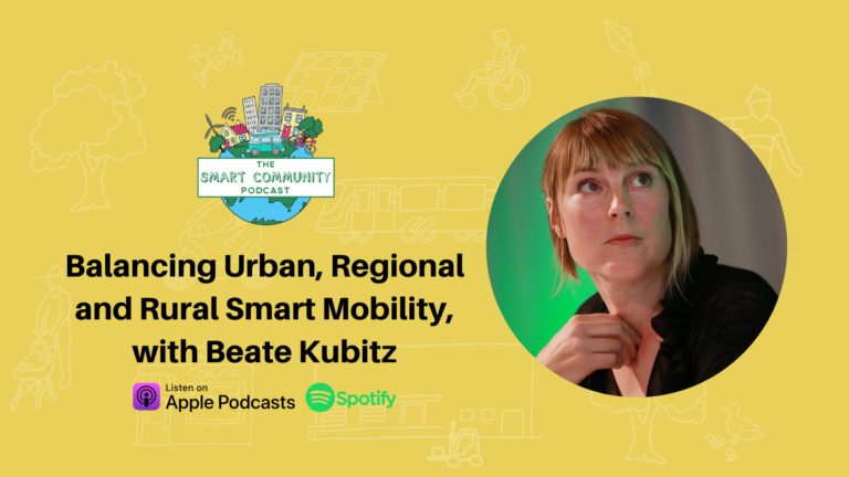 SCP E218 Balancing Urban, Regional and Rural Smart Mobility, with Beate Kubitz