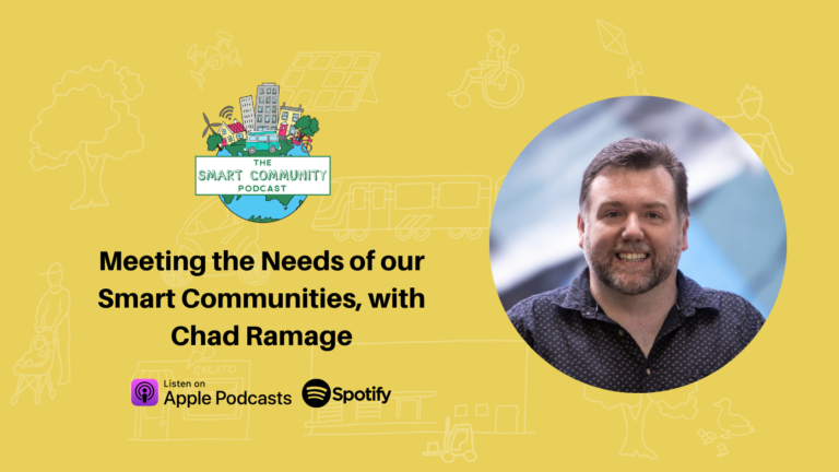 SCP E221 Meeting the Needs of our Smart Communities, with Chad Ramage