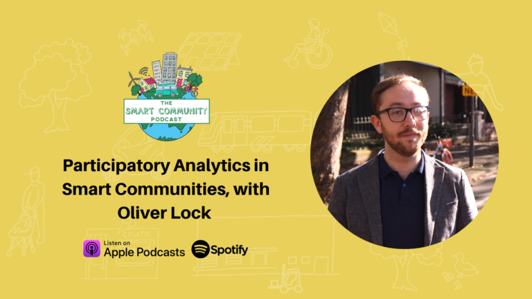 SCP E222 Participatory Analytics in Smart Communities, with Oliver Lock