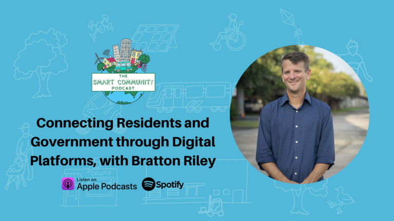 SCP E225 Connecting Residents and Government through Digital Platforms, with Bratton Riley