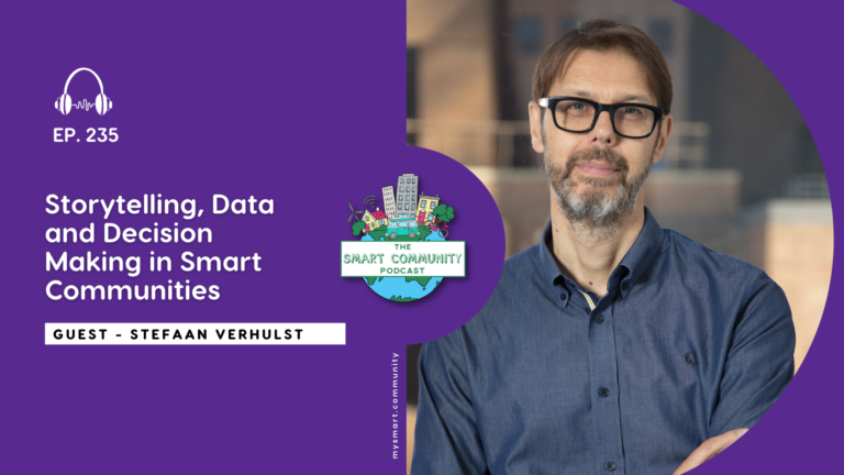 SCP E235 Storytelling, Data and Decision Making in Smart Communities, with Stefaan Verhulst